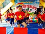 A correr por la salud en el Día Olímpico en Vietnam