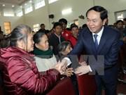 Presidente vietnamita entrega obsequios a residentes desfavorecidos en Nghe An