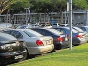 Singapur cobrará carga recíproca de carretera de automóviles extranjeros