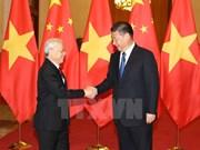 Líderes de Vietnam y China intercambian mensajes por aniversario de lazos