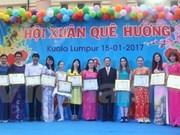 Vietnamitas en ultramar festejan el Tet