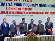 THACO coopera con grupo sudcoreano para fabricación de máquinas agrícolas