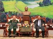 Líderes laosianos resaltan aportes de soldados voluntarios vietnamitas