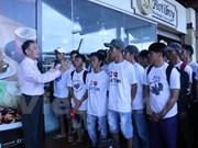 Indonesia repatría a 70 pescadores vietnamitas