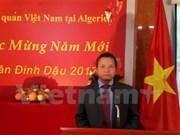 Vietnamitas en Argelia saludan Año Nuevo Lunar