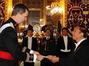 Rey Felipe VI: España prioriza relación con Vietnam