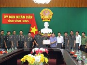 Felicitan funcionarios camboyanos a provincia de Vietnam con motivo del Tet