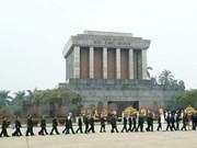 Rinden homenaje a Ho Chi Minh con motivo de aniversario de Partido Comunista