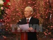 Líder partidista felicita a exdirigentes y veteranos por Año Nuevo Lunar