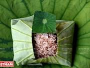 Flor de loto en el campo gastronómico