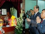 Presidente de Vietnam rinde homenaje a Ho Chi Minh