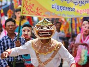 Misteriosas máscaras de los khmer