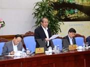 Vicepremier vietnamita pide acelerar la construcción de base nacional de datos civil