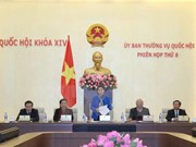 Comité Permanente del Parlamento vietnamita anuncia agenda de próxima reunión