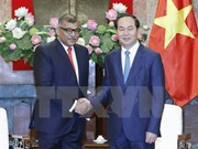 Presidente vietnamita urge a impulsar cooperación judicial con Singapur