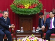 Refuerzan cooperación partidos comunistas de Vietnam y Japón