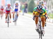 Ciclistas vietnamitas compiten en Campeonato Asiático 2017