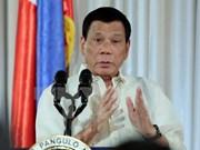 Presidente de Filipinas se muestra inflexible contra secuestros por rescate