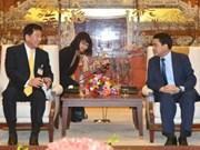 Japón apoya a Vietnam en entrenamiento contra incendios