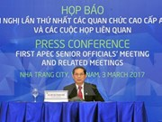 APEC 2017: Finaliza con éxito primera Reunión de Altos Funcionarios