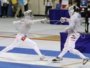 Atleta vietnamita gana bronce en Campeonato Junior de Esgrima de Asia