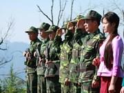 Promueven papel de soldados jóvenes en protección de fronteras