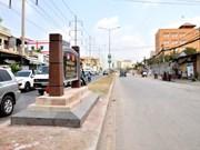 Inauguran Avenida de Amistad Phnom Penh-Hanoi en la capital de Camboya
