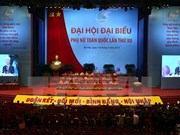 Inauguran en Vietnam el XII Congreso Nacional de las Mujeres