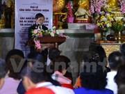 Réquiem en Tailandia por soldados mártires vietnamitas