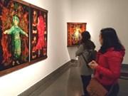 Culto a las Diosas Madres de Vietnam en pinturas de laca