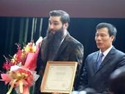 Director de Hollywood promete promover el turismo de Vietnam