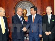 Diputados de Japón dispuestos a impulsar lazos multisectoriales con Vietnam