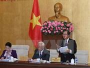 Comité Permanente del Parlamento vietnamita inicia octava sesión