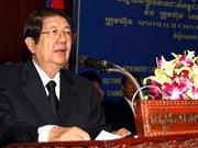 Falleció viceprimer ministro de Camboya Sok An