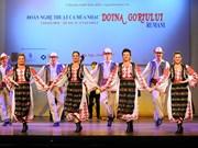 Efectúan velada de músicas y danzas populares de Rumania en Vietnam