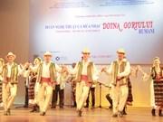 Intensifican cooperación cultural-artística entre Vietnam y Rumanía