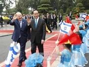 Vietnam e Israel alcanzan percepciones comunes sobre cooperación bilateral
