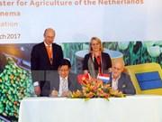 Países Bajos comparte experiencias sobre agricultura sustentable en Vietnam