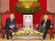 Líder partidista de Vietnam destaca cooperación con Israel