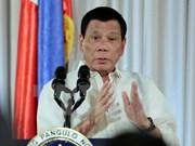Presidente filipino tratará de cooperación en seguridad en su visita a Tailandia