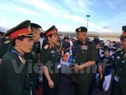 Buque de escolta de misiles de Vietnam asiste a exposición de Langkawi