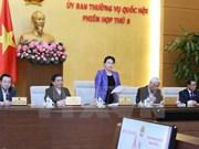 Comité Permanente del Parlamento vietnamita clausura octava sesión