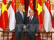 Lazos comerciales, pilar de asociación estratégica Vietnam- Singapur