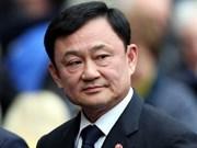 Expremier tailandés obligado a pagar 485 millones de dólares de impuestos