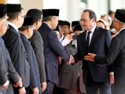 Malasia y Francia intensifican cooperación en economía y defensa