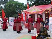 Phu Tho persiste en conservar y promover valores de canto patrimonial