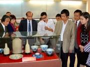 Exhiben objetos protohistóricos en provincia de Vietnam