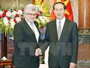 Presidente Dai Quang propone apoyo suizo a TLC entre Vietnam y EFTA