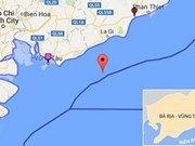 Recuperan cadáver de tripulante de barco vietnamita naufragado