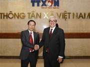 Agencia vietnamita de Noticias desea cooperar con AFP en formación de periodistas